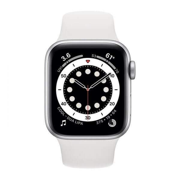 Apple Watch Series 6 (40mm) Gümüş Rengi Alüminyum Kasa ve Spor Kordon Fiyatı ve Özellikleri