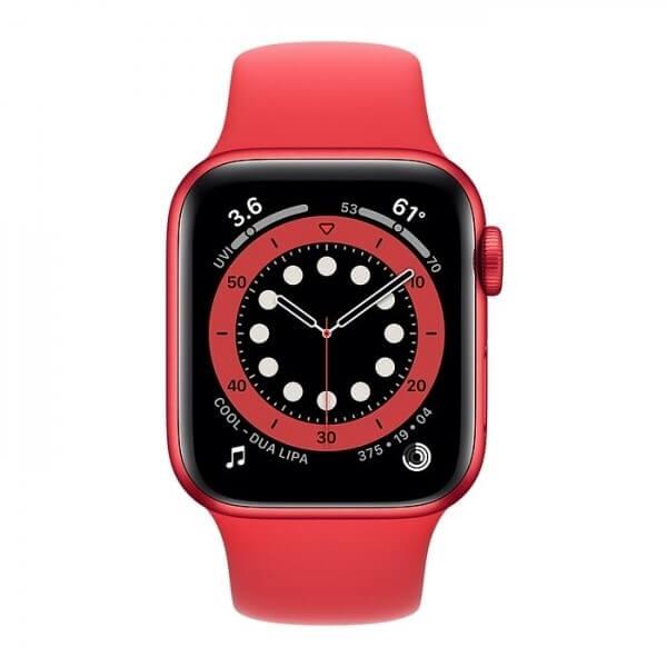 Apple Watch Series 6 (40mm) (Product)Red Alüminyum Kasa ve Spor Kordon Fiyatı ve Özellikleri