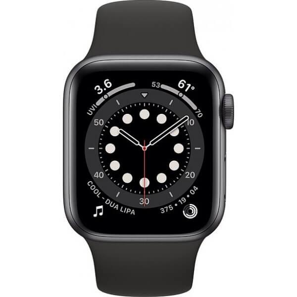 Apple Watch Series 6 (40mm) Uzay Grisi Alüminyum Kasa ve Spor Kordon Fiyatı ve Özellikleri