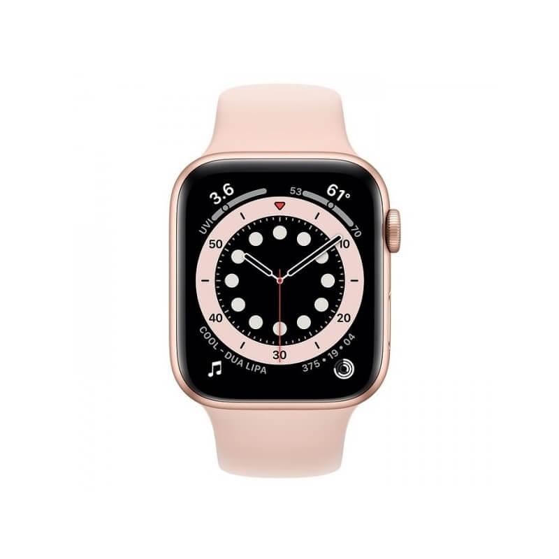 Apple Watch Series 6 (44mm) Altın Rengi Alüminyum Kasa ve Spor Kordon Fiyatı ve Özellikleri