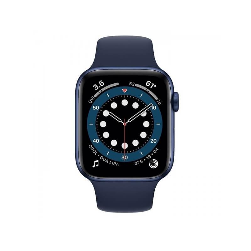 Apple Watch Series 6 (44mm) Mavi Alüminyum Kasa ve Spor Kordon Fiyatı ve Özellikleri