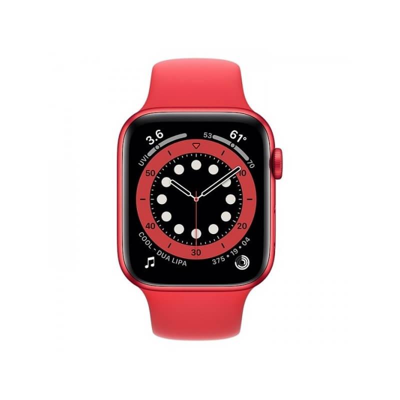 Apple Watch Series 6 (44mm) (Product)Red Alüminyum Kasa ve Spor Kordon Fiyatı ve Özellikleri