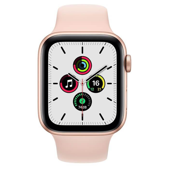 Apple Watch SE (44mm) Altın Rengi Alüminyum Kasa ve Spor Kordon Fiyatı ve Özellikleri