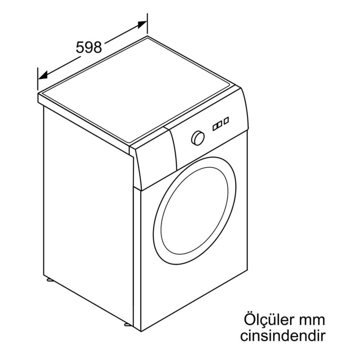 Bosch WAT24480TR Camasir Makinesi
