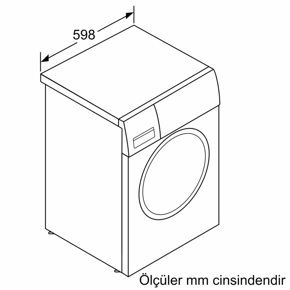 Bosch WGA252X0TR Camasir Makinesi