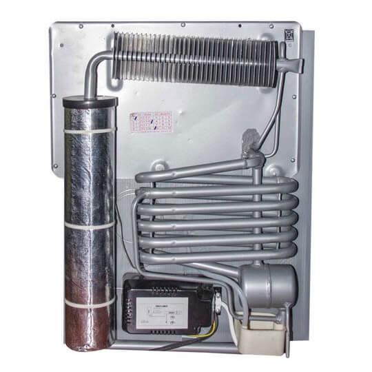Lifetech LF-40 Beyaz Cam Kapı buzdolabi
