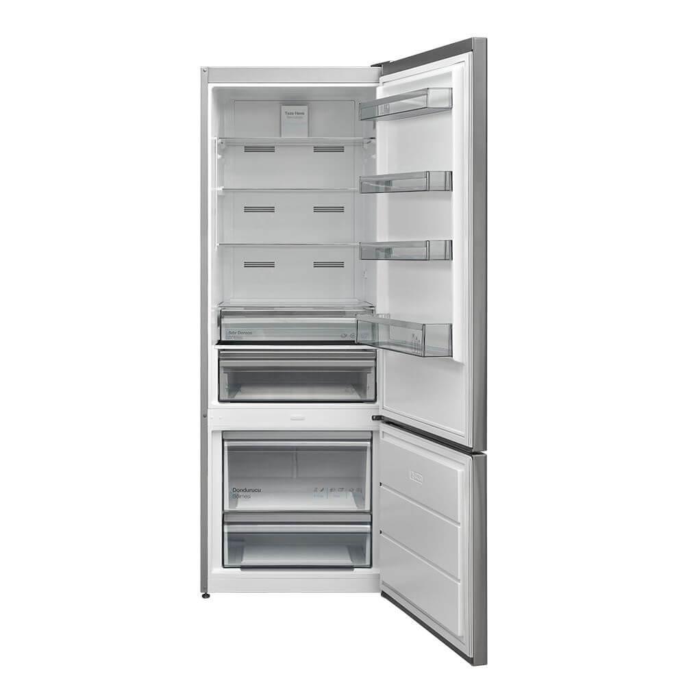 Vestel NFK520 X A++ buzdolabi