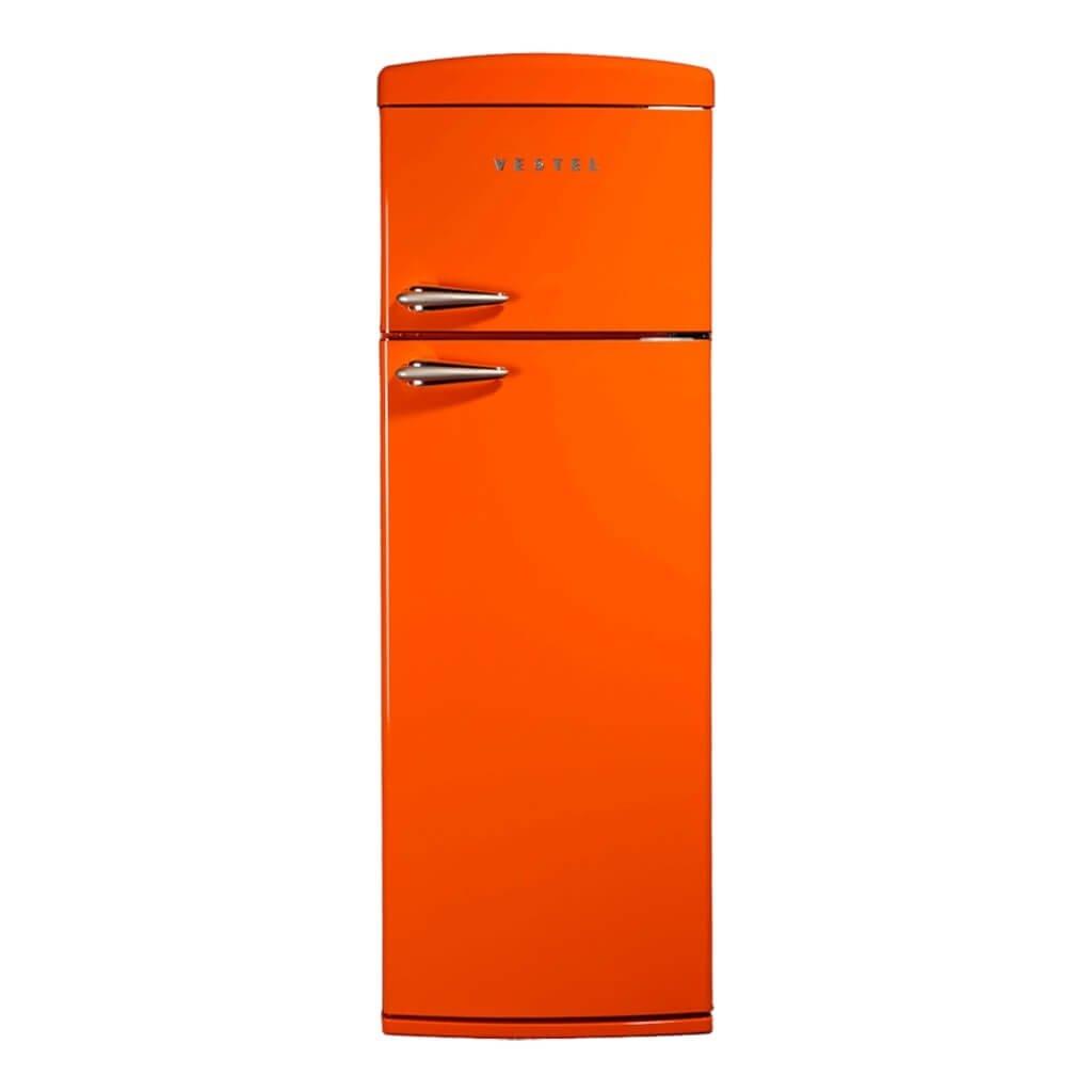 Vestel Retro SC325 Turuncu buzdolabi